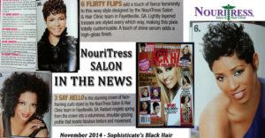 Black Hair Magazine - November 2014